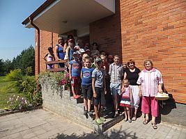 Sargelių bendruomenės centro vasaros stovykla, 2014