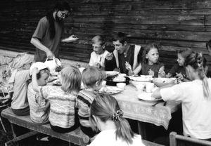 Sargelių bendruomenės vasaros stovykla, 2005